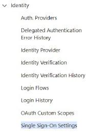 Configuring SAML for Salesforce