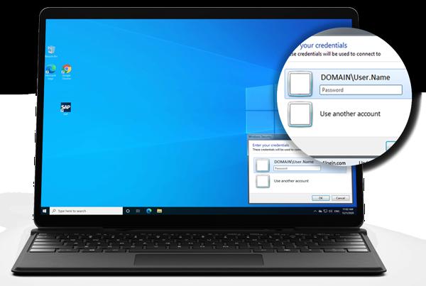Secure SSO for Windows Desktop Applications